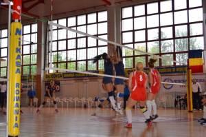 Volei: CSM Satu Mare 0 - 3 CSU Oradea