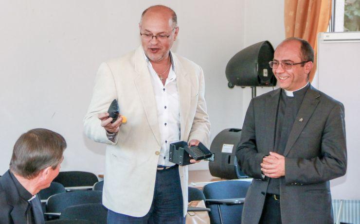 Protopopul Ioan Roman, noul director al Organizației Caritas Satu Mare