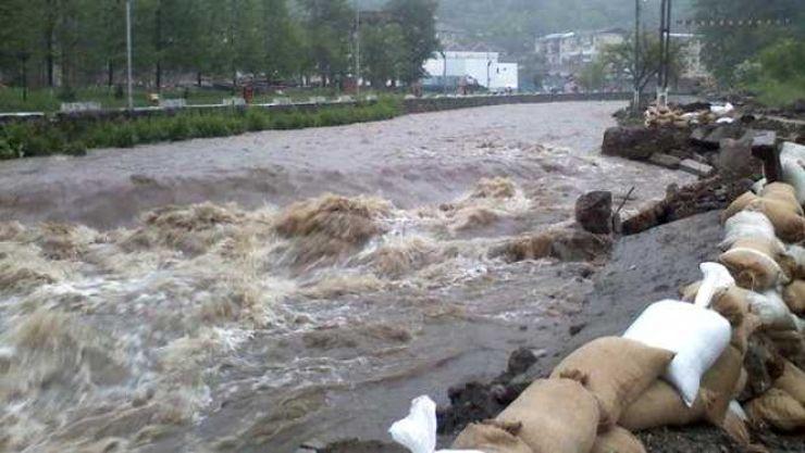 Râul Tur, sub atenționare de Cod galben