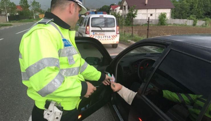 Şoferi vitezomani amendaţi de poliţiştii sătmăreni