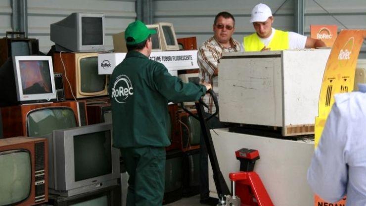 O nouă acțiune de colectare a deșeurilor electrice în municipiul Satu Mare