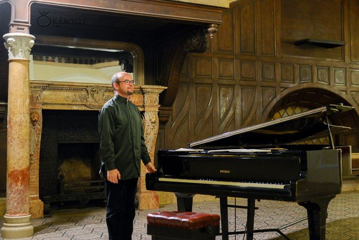 Recital extraordinar de pian al celebrului artist rus Alexei Nabioulin, la Castelul din Carei