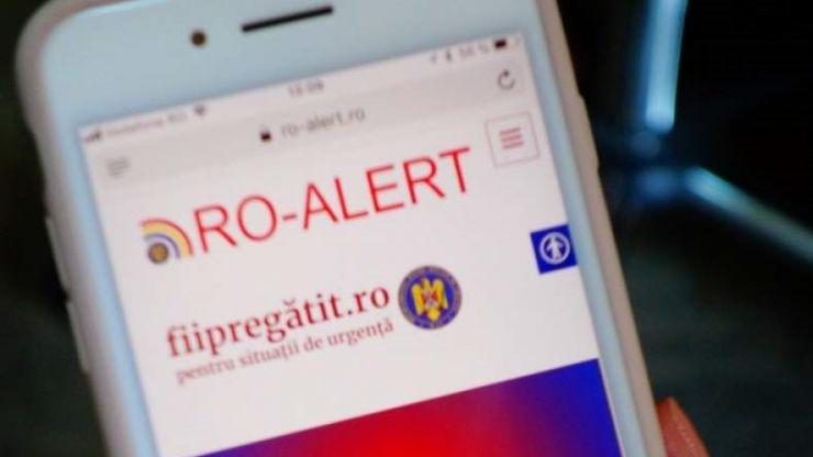 Mesaje de avertizare pe telefoane. Calendarul testărilor Ro-Alert în județul Satu Mare