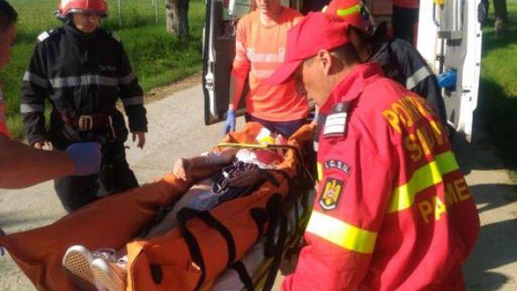 FOTO I Accident rutier cu șapte victime în județ. S-a activat Planul Roșu de Intervenție