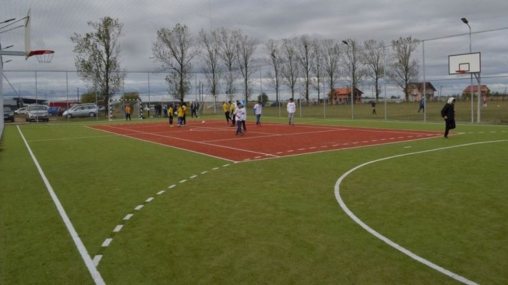 Bază sportivă modernă, inaugurată la Medieșu Aurit