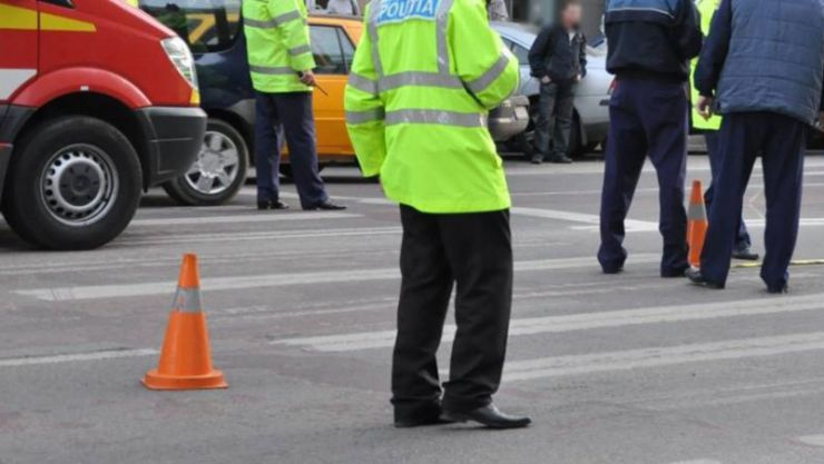 Accident rutier grav produs în zona Pieţei Eroilor Revoluţiei din Satu Mare