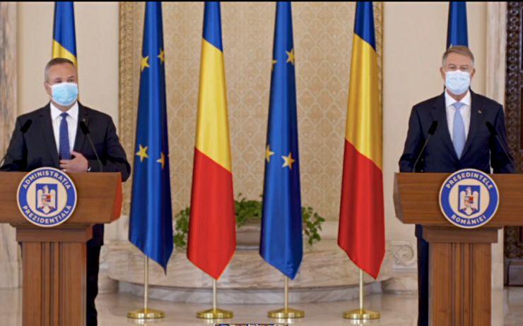 """Klaus Iohannis: """"Am decis să-l desemnez drept candidat pentru funcția de prim-ministru pe Nicolae Ciucă"""""""