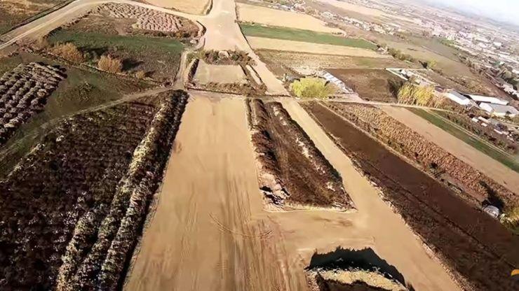Varianta de Ocolire Satu Mare, filmată din avion