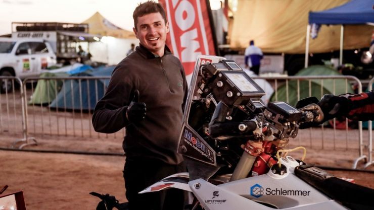 Dakar 2020 | Mani Gyenes, lider la clasa Malle Moto - Original și după etapa 5