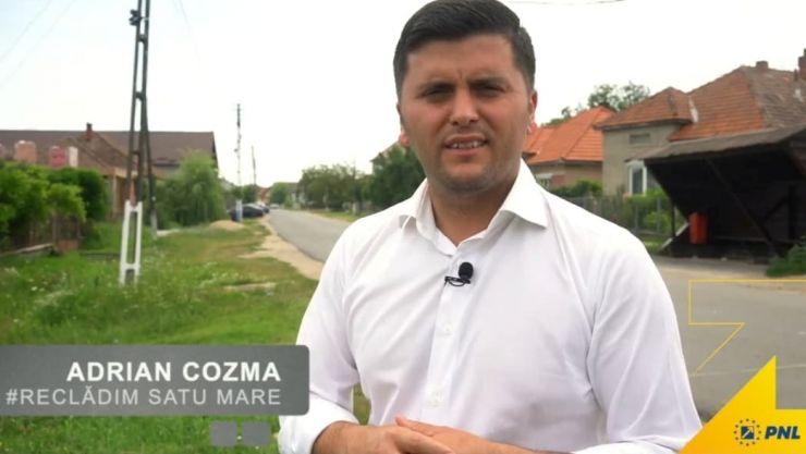 """Adrian Cozma, candidatul PNL la președinția Consiliului Județean Satu Mare: """"Voi demara proiectul de extindere a rețelelor de gaz în toate localitățile dn județul Satu Mare"""""""