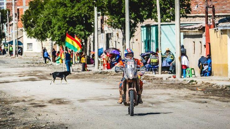 Dakar 2018 | Mani Gyenes a ajuns cu bine la finalul celei mai lungi probe speciale. Etapa 9 a fost anulată