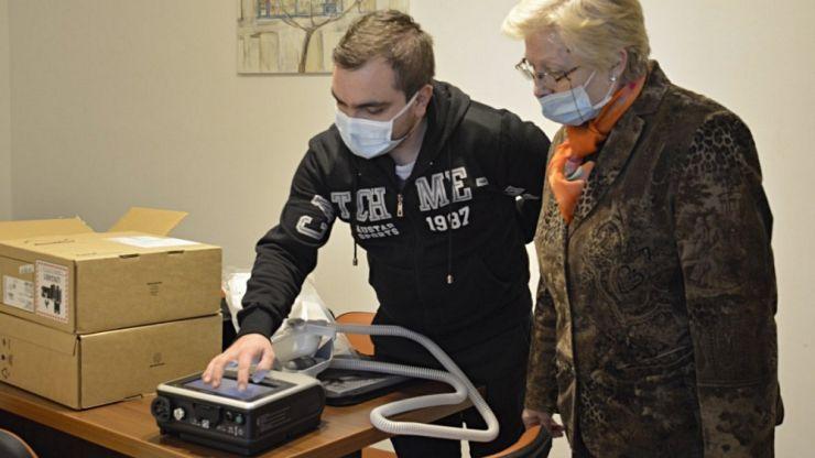 Covid-19 | Trei aparate de ventilație portabile, în dotarea Spitalului Municipal Carei