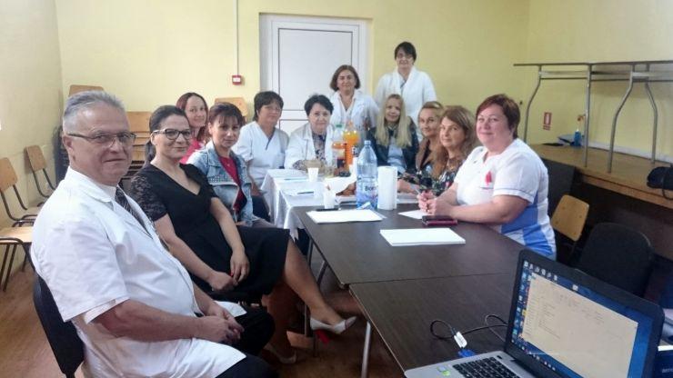 Vizită de lucru la Spitalul de Pneumoftiziologie Satu Mare