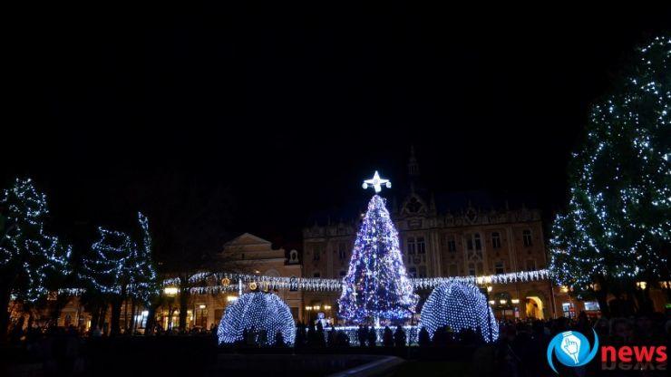În această seară se aprinde iluminatul de sărbători în Satu Mare