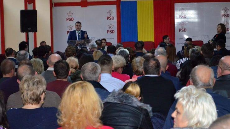Ministrul Gabriel Leș, ales președinte al Organizației Municipale PSD Satu Mare