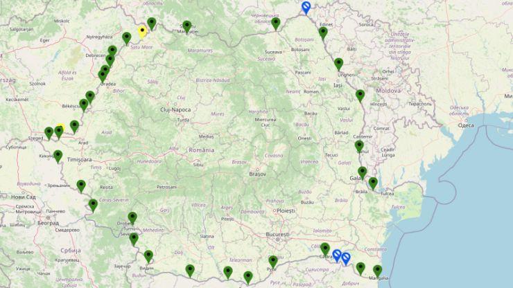 Trafic intens la automarfare, la frontiera cu Ungaria
