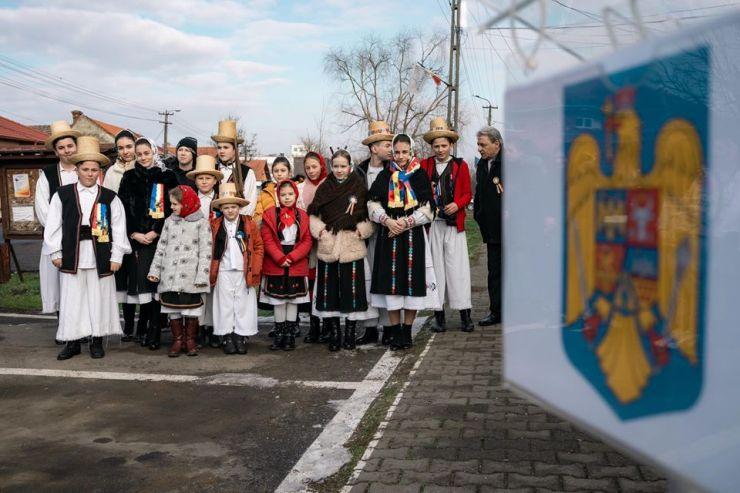 FOTO | Prefectul Radu Bud, prezent la manifestările dedicate împlinirii a 161 de ani de la Unirea Principatelor Române, la Ardud