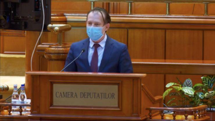 Guvernul de coaliție a fost votat în Parlament