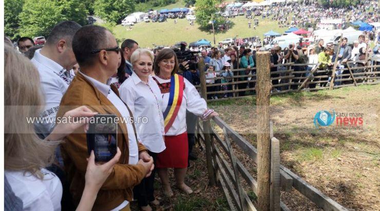 Viorica Dăncilă își începe campania la Satu Mare