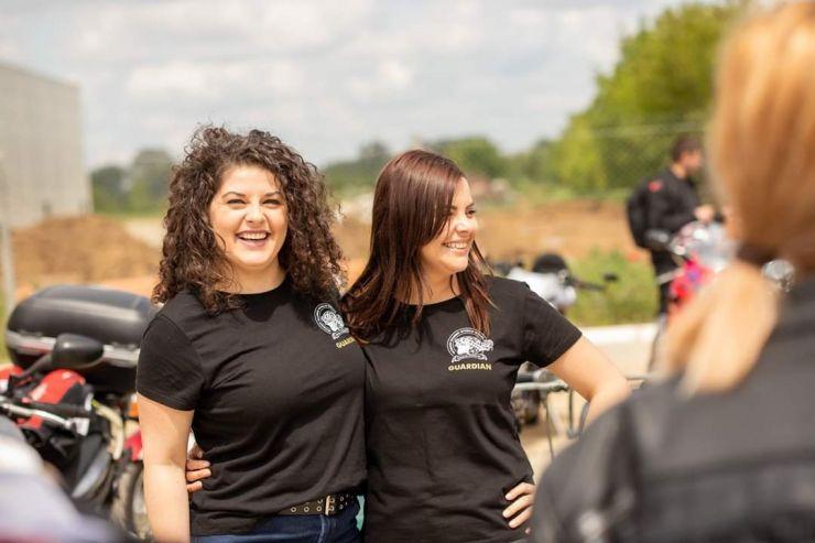 Diana Mindrut și Samuela Rigo reprezintă nord-vestul țării la ștafeta moto internaţională WRWR