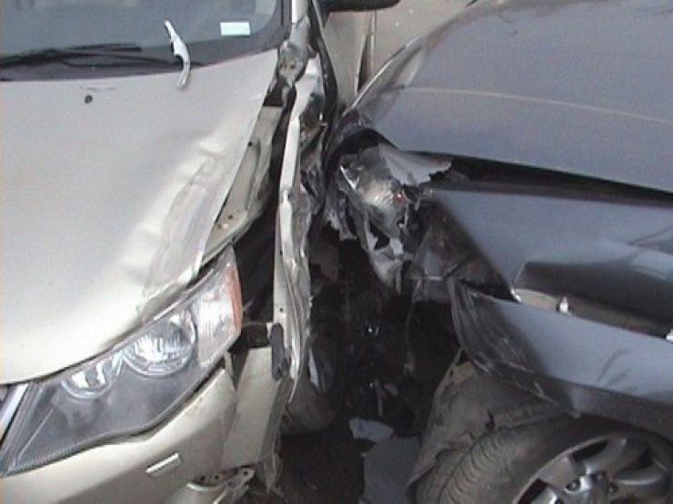 Un șofer beat a provocat un accident în Ghenci
