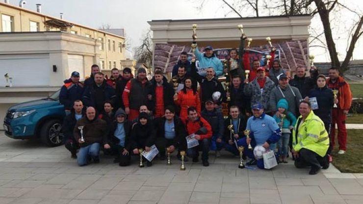 Rezultatele înregistrate la Campionatul Internațional de Rally Sprint ACR 2017