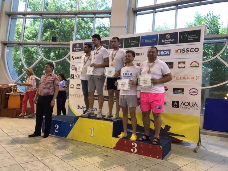 Polițistul David Remus Florin, locul I la finala Campionatului de Înot al Ministerului Afacerilor Interne