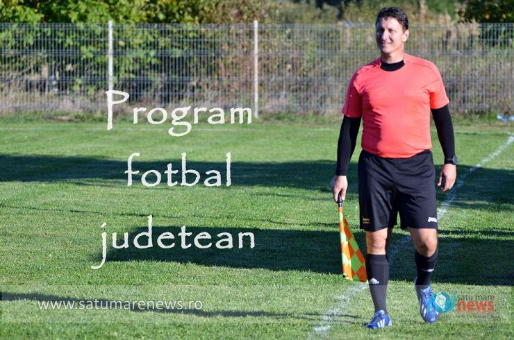 Fotbal județean | Programul și oficialii delegați la meciurile din Liga 4 și Liga 5