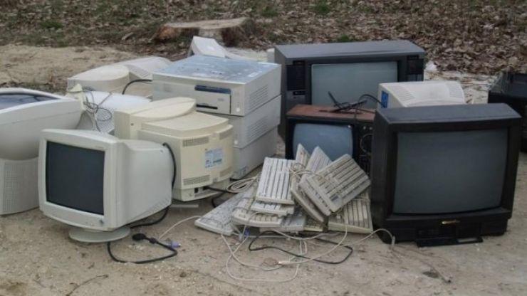 Aproape zece tone de deșeuri electrice și electronice colectate