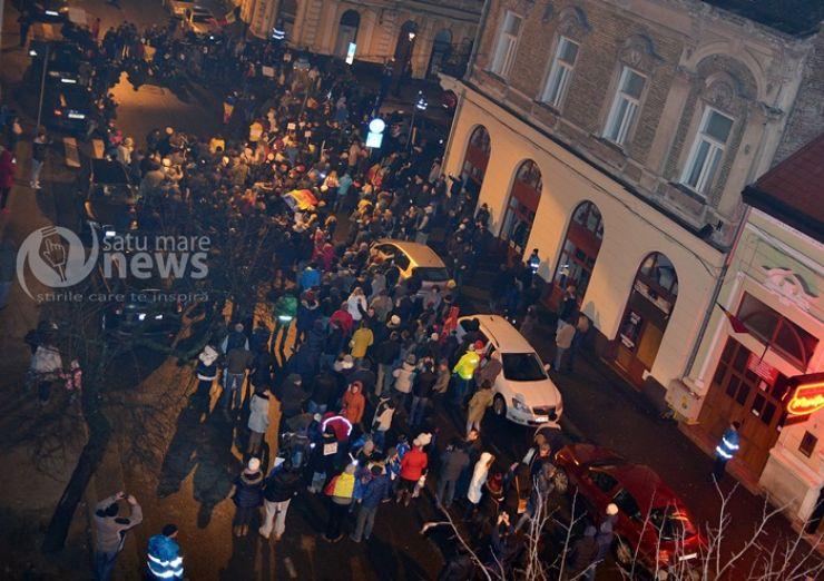 La Satu Mare nu există sesizări cu privire la părinţii care şi-au dus copiii la proteste