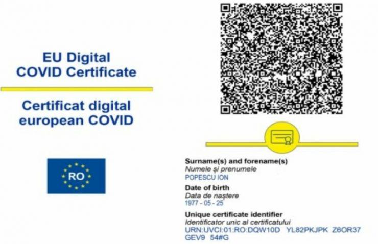 Românii vaccinați anti-COVID-19 pot descărca certificatele digitale! STS explică pașii pe care trebuie să-i urmăm