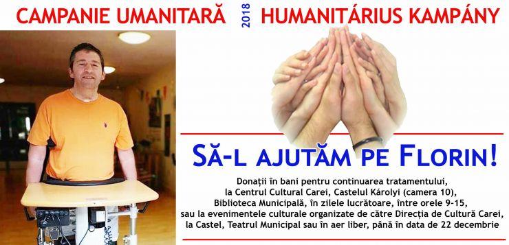 Campanie umanitară | Florin Bărnuțiu, fost membru al formației Castelanii, are nevoie de ajutor
