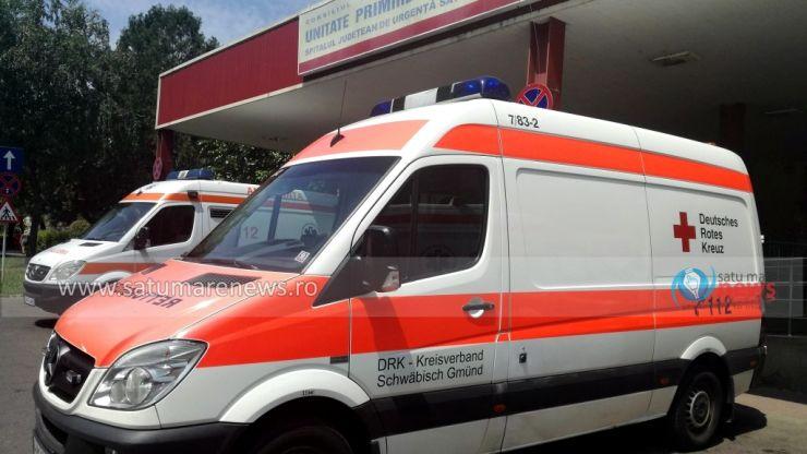 Încă o ambulanță second primită de la nemți