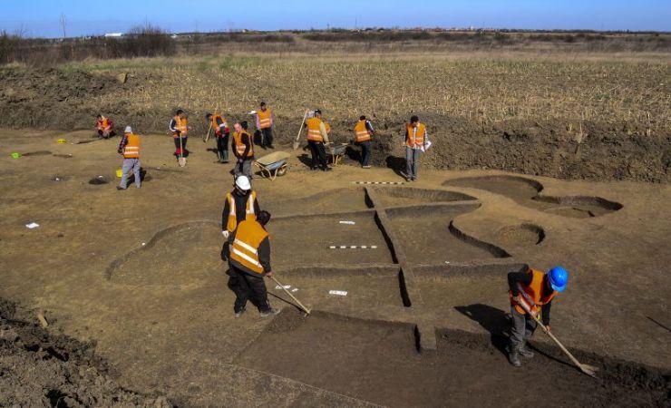 Așezare preistorică descoperită sub șoseaua de centură