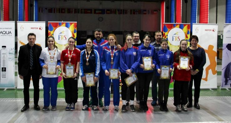 Campionatul Național de floretă cadeți | Rebeca Cândescu (CSA Steaua) a câștigat proba feminină la individual