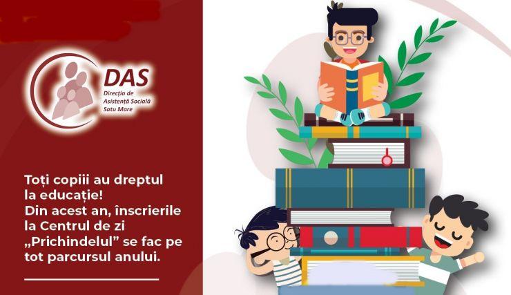 Educație gratuită pentru copiii aflați în situații de risc