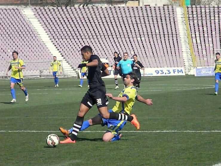 FOTBAL. Înfrângere în primul meci din play-off pentru Olimpia