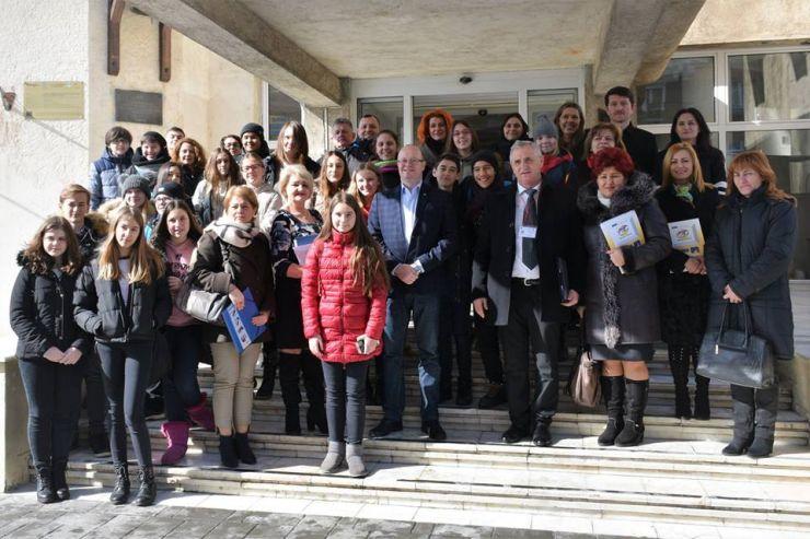 Profesori și elevi din cinci țări, la Satu Mare