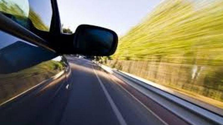 Șofer prins de radar cu 172 km/oră