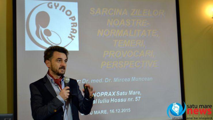 SEMINAR. Dr. ginecolog Mircea Muncean a prezentat cele mai importante lucruri despre sarcină și naștere