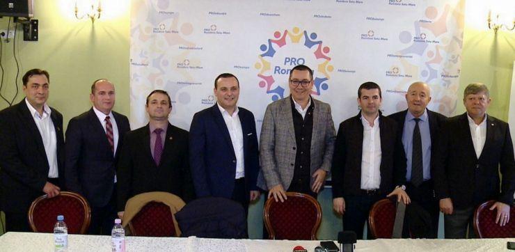 Pro România își propune să devină prima formațiune politică românească din județul Satu Mare