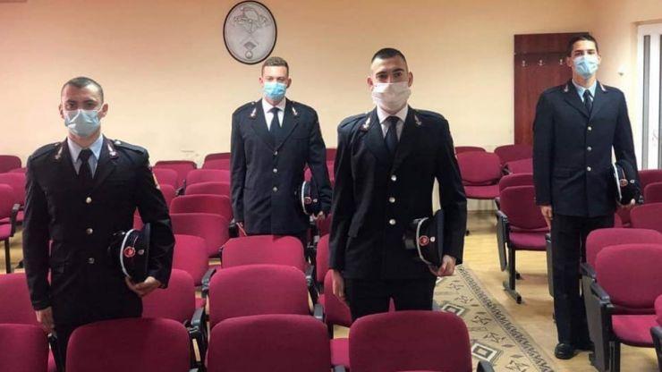 Patru elevi ai Şcolii de Subofiţeri de Pompieri şi Protecţie Civilă au depus jurământul