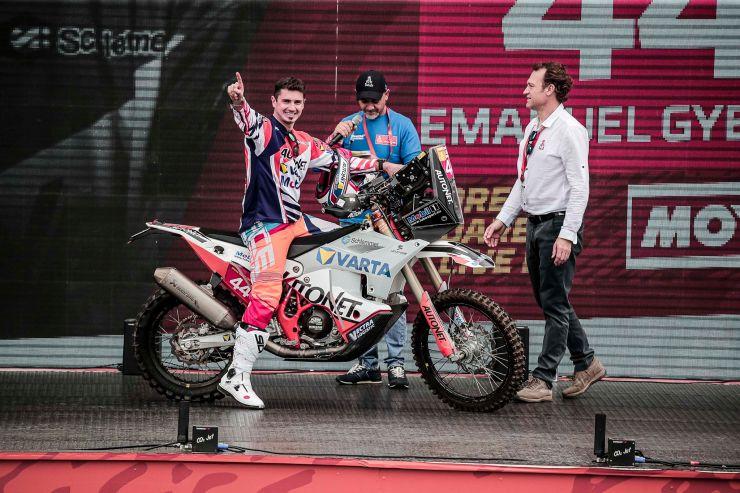 Dakar 2020 | Emanuel Gyenes, lider la Clasa Malle Moto, după prima zi