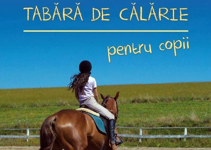 Ofertă pentru copii | Tabără de călărie la Atea