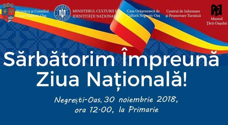 Paradă militară și manifestări de anvergură de Ziua Națională a României la Negrești-Oaș