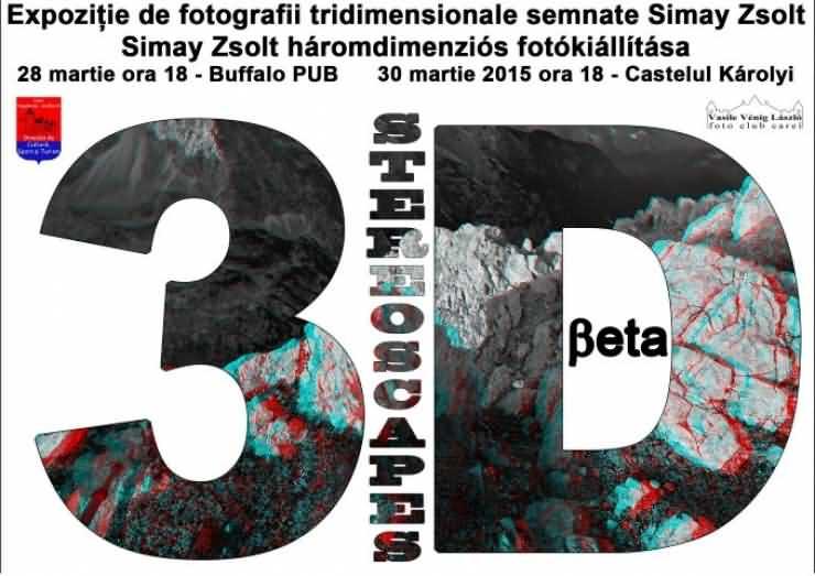 Expoziție foto 3D, în premieră la Carei