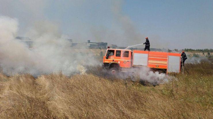Incendiu în zona de agrement Bercu Roșu