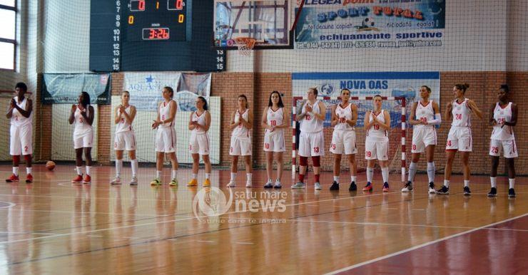 Baschet | Primul meci, prima înfrângere pentru CSM Satu Mare
