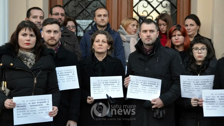 Judecătorii din Satu Mare intră de luni în grevă pe o perioadă nedeterminată