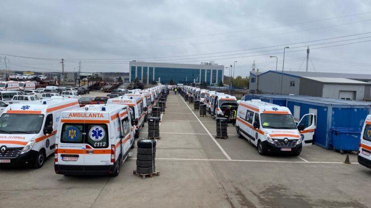 Satu Mare a primit trei ambulanțe tip A2